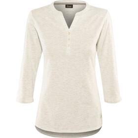 Schöffel Johannesburg Langærmet T-shirt Damer, white alyssum